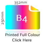 B4 Printed Full Colour
