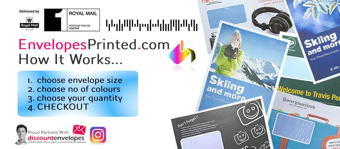 EnvelopesPrinted.com - 1, 2 And Full Colour Printers