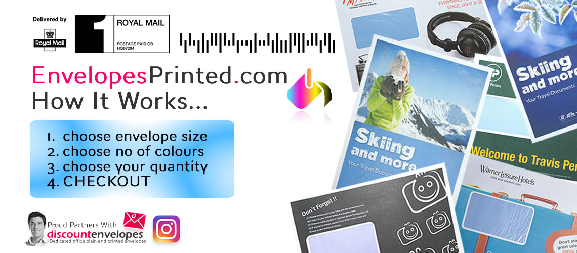 EnvelopesPrinted.com - 1, 2 And Full Colour Printers