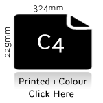 C4 Printed Black To Face