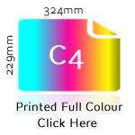 C4 Printed Full Colour