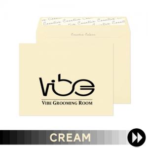 Cream Printed Envelopes