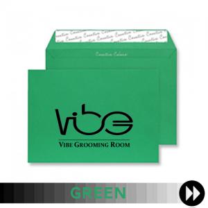 Green Printed Envelopes