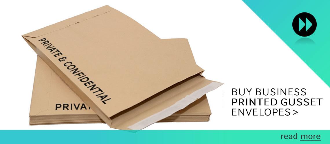 Printed Gusset Envelopes
