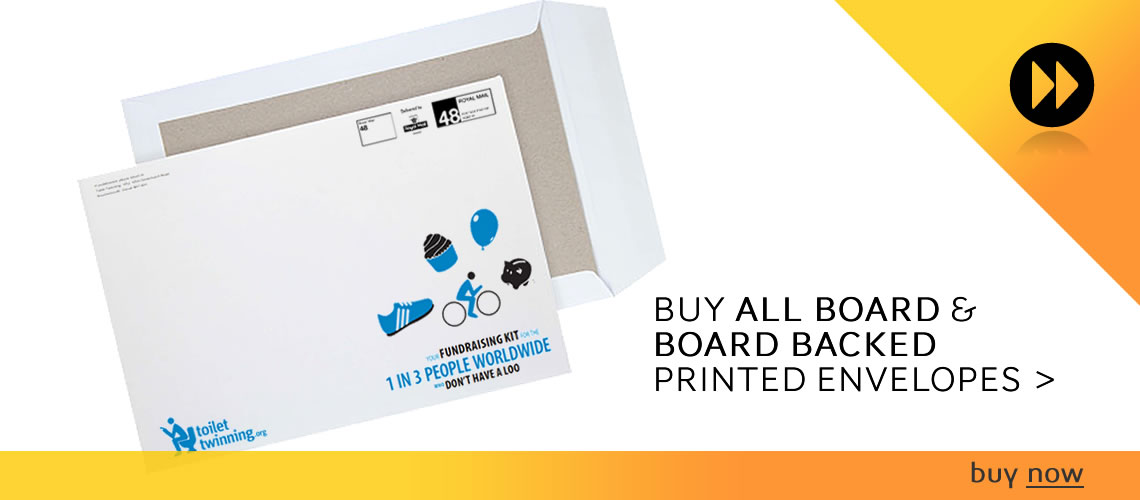 Printed Board Back And All Board Envelopes