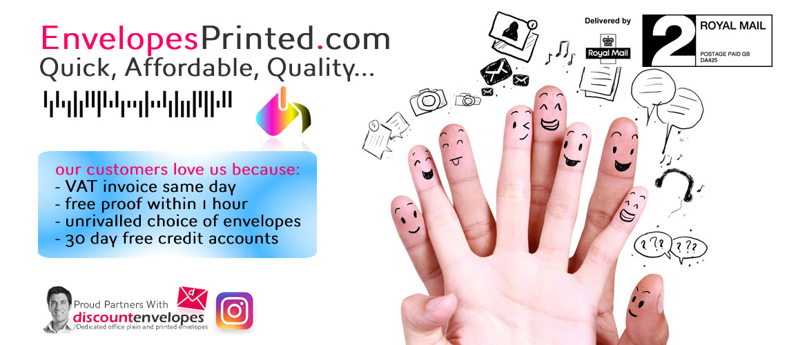 EnvelopesPrinted.com - Envelope Printers For the UK