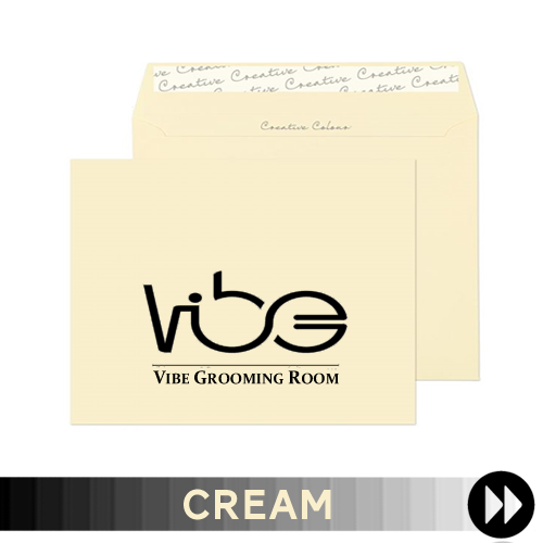 Cream Printed Envelopes