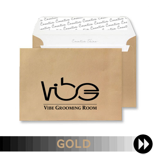 Gold Printed Envelopes
