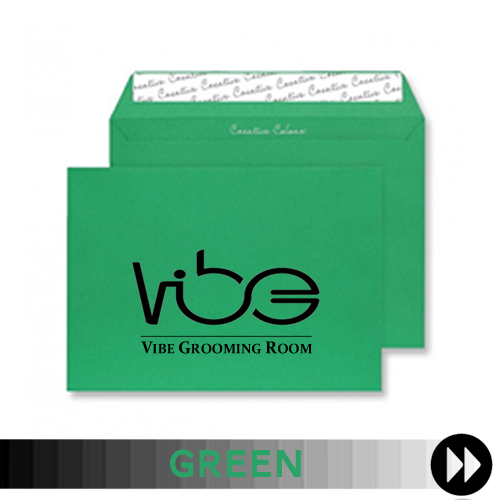 Green Printed Envelopes