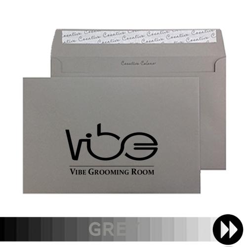 Grey Printed Envelopes