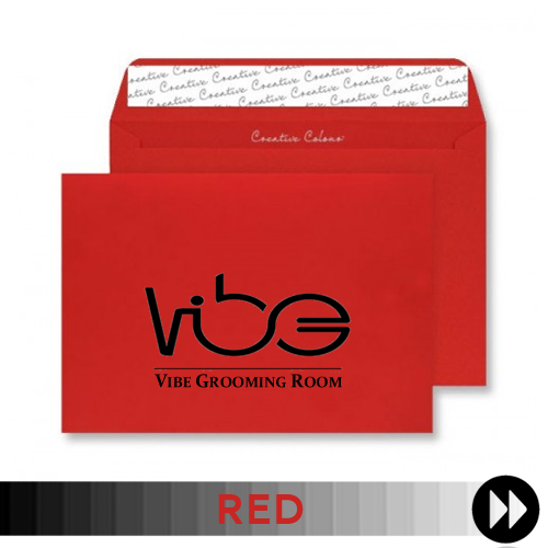 Red Printed Envelopes